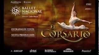 Ballet del Sodre estrena: El corsario.