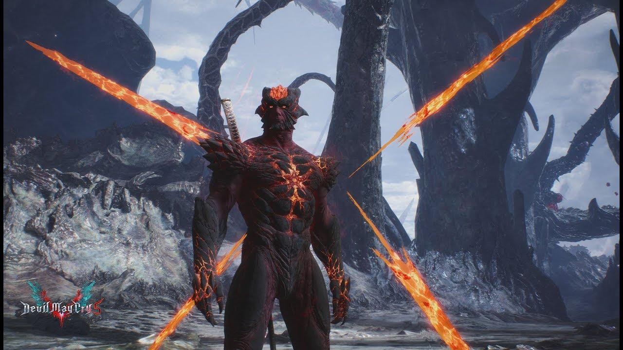Devil May Cry 5 Inferno Dante Showcase Wip Mod