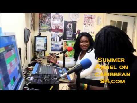 actress Summer Angel interview on Caribbean 94.com
