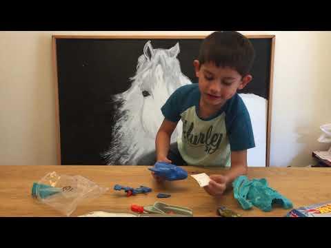 Josiah's First Toy Review: Hot Wheels Shark Bait Part 1