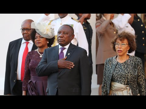South Africa's new president invokes Mandela in first major speech