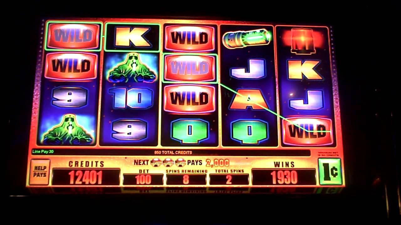 Meltdown Slot Machines