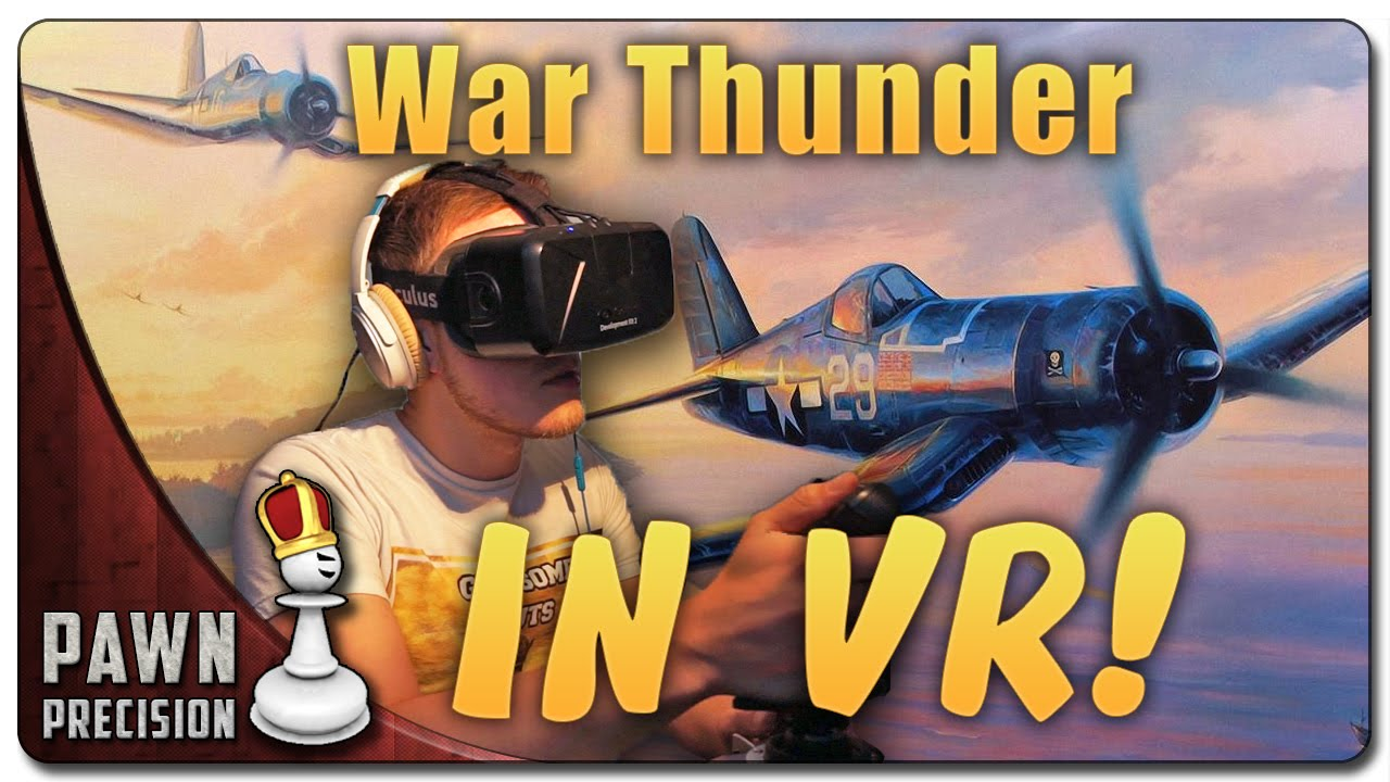 how to play war thunder in vr