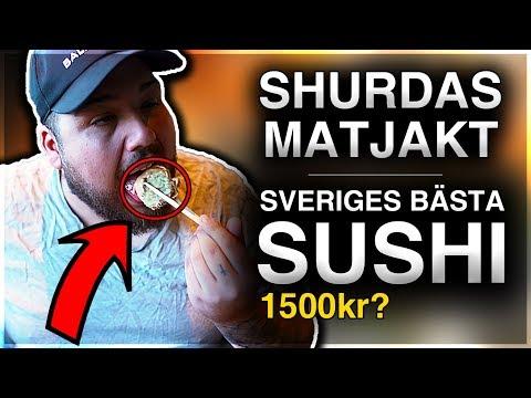 SHURDAS MATJAKT: SVERIGES BÄSTA SUSHI **1500KR**