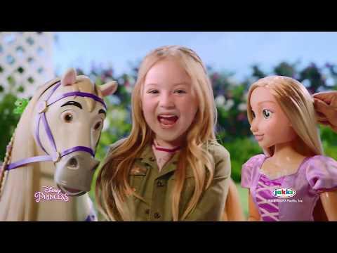 Disney Princess Playdate Rapunzel og Maximus (DK)