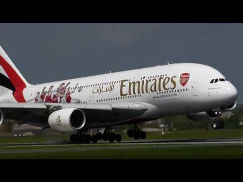Emirates A380 with Arsenal FC livery | Corporate Travel Concierge