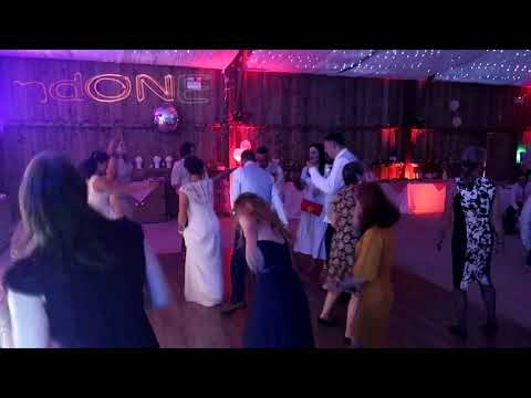SoundONE Cornwall Wedding DJ at Milton Barn
