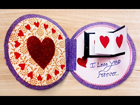 How To Make Beautiful Handmade Valentines Card Diy Valentine