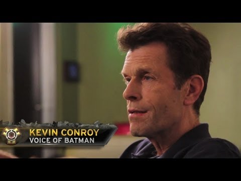 Injustice: Gods Among Us | Celebrity Expert: Kevin Conroy, Voice of Batman