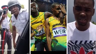Warren weir getting harassed by jamaican police because of the car he is driving