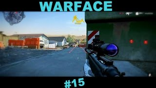 Warface - ПВП битвы за снайпера на Чарли. #15