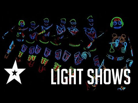 Best Light Shows Ever On America's Got Talent & Britain's Got Talent