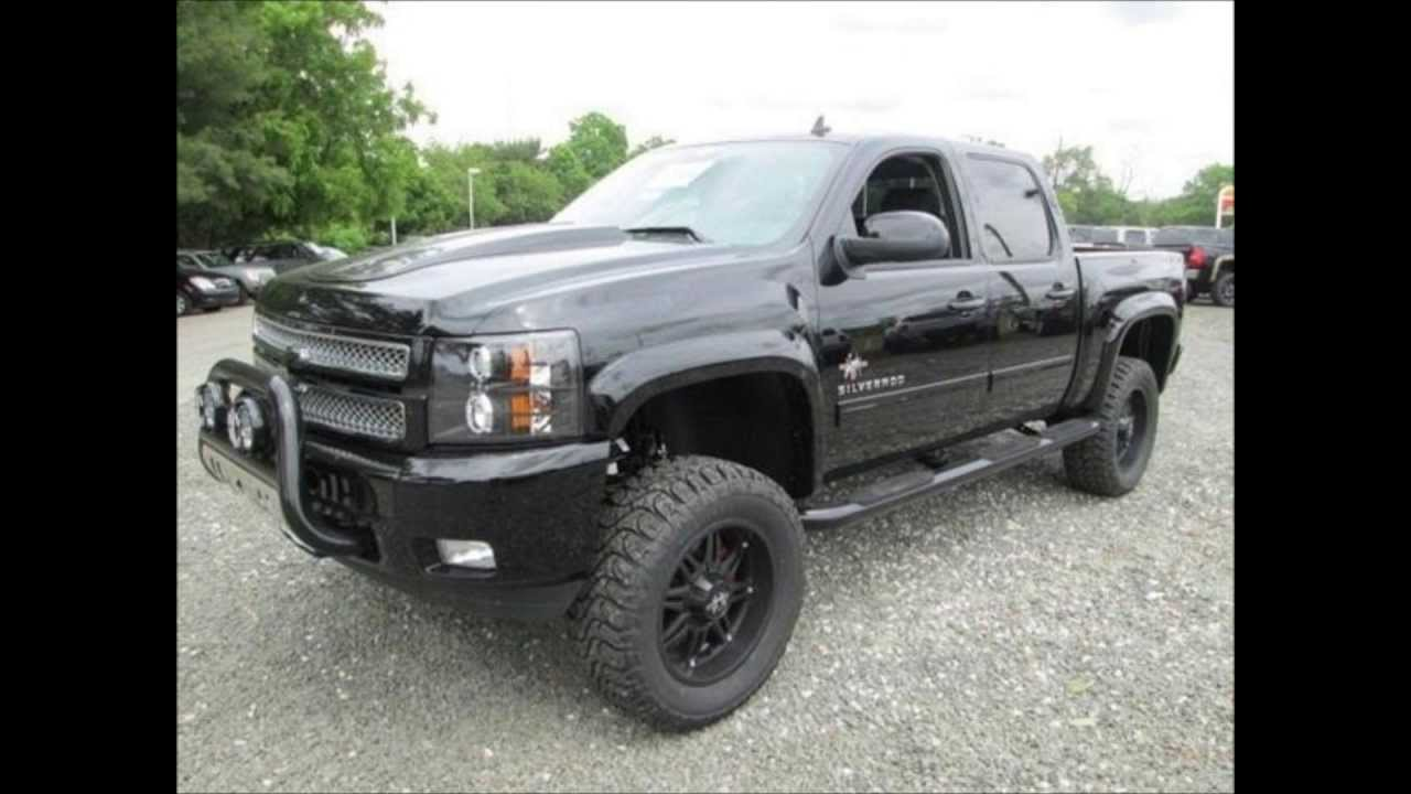 2013 Chevy Silverado 1500 LT Southern Comfort Black Widow - YouTube