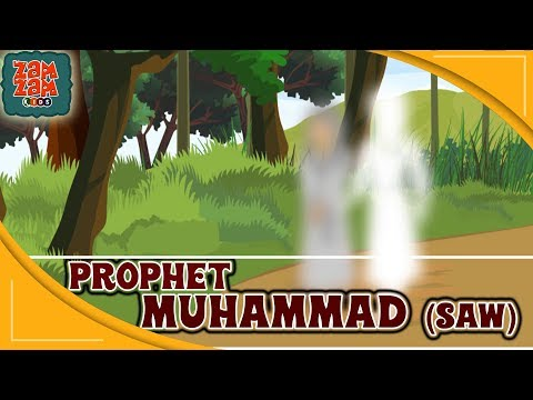 Quran Stories In English | Prophet Muhammad (SAW) | Part 1 | English Prophet Stories | Quran Cartoon