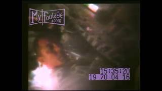 NASA APOLLO 13 SPACE MISSION, April 1970 STOCK FOOTAGE HD