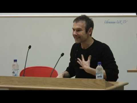 Lecture by leader of Okean Elzy Svyatoslav Vakarchuk ат LSE SU Ukrainian Society  17-11-2014.