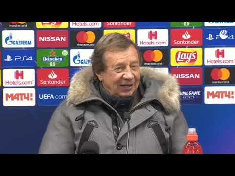 Главный тренер Юрий Сёмин после матча «Локомотив» «Байер» извинился перед болельщиками за игру