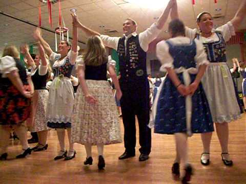 "The ""V"" dance at Carpathia Club, Detroit. Donauschwaben and American Aid Society"
