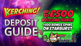 How To Pay By Phone At Kerching Mobile Casino - Mobile Depositing Casino Guide