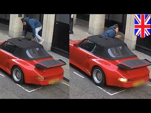 ladrón-termina-con-las-manos-vacías-luego-de-intentar-robar-un-porsche-en-las-calles-de-londres