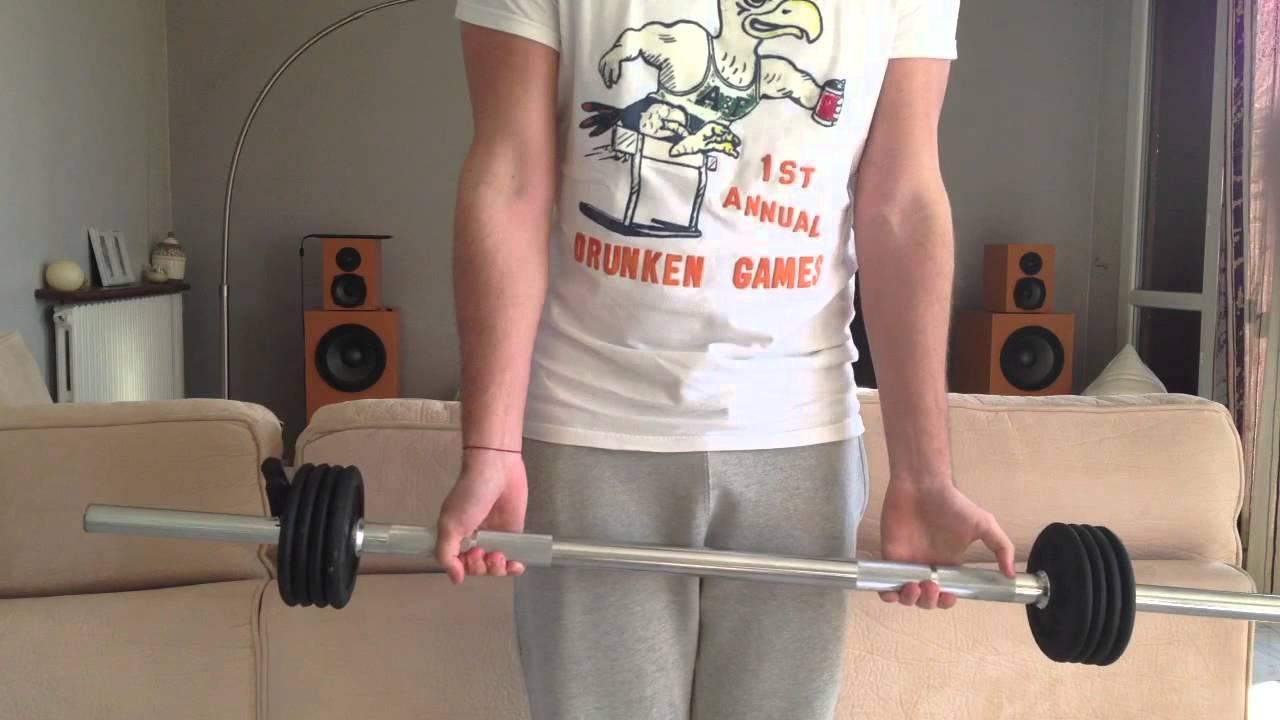 Utiliser une barre de musculation - Exercices de ...