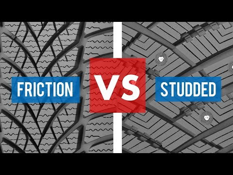STUDDED WINTER TIRES VS STUDLESS WINTER TIRES