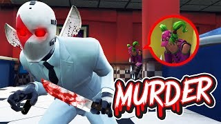 WIRD ER UNS TÖTEN?! | Fortnite MURDER Modus!