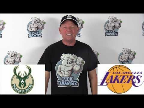 Los Angeles Lakers vs Milwaukee Bucks 3/6/20 Free NBA Pick and Prediction NBA Betting Tips
