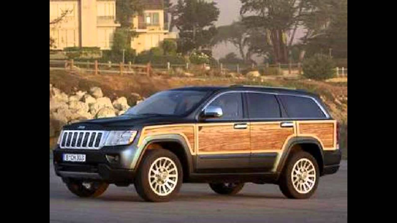 2018 Jeep Grand Wagoneer Concept Picture Gallery - YouTube