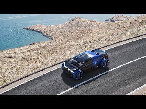 Citroen 19 19 Concept Car Takes Passengers On A Magic Carpet Ride
