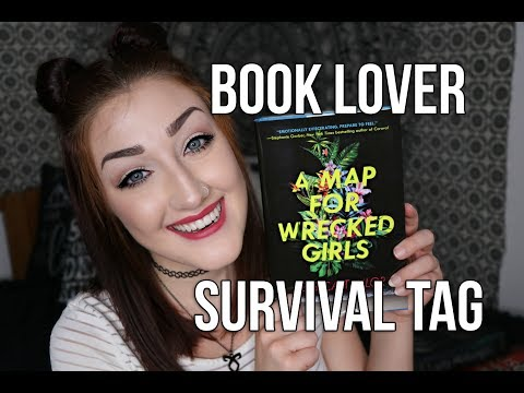 THE BOOK LOVER SURVIVAL TAG.