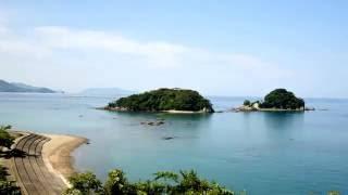 宿毛市にある離れ小島の咸陽島のタイムラプスです。 普段は歩いてはわた...