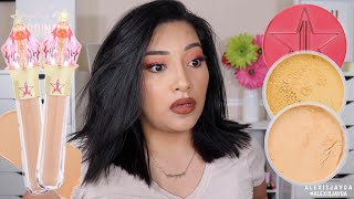 JEFFREE STAR MAGIC STAR CONCEALERS + MAGIC STAR SETTING POWDERS | IM CONFUSED!