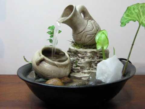 Fuente de agua feng shui contra la envidia 321 mpeg youtube - Fuente decoracion interior ...