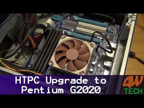 HTPC Upgrade to Pentium G2020 - January 2018