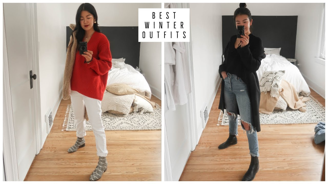 CASUAL WINTER OUTFITS 2019 | WHAT I WORE