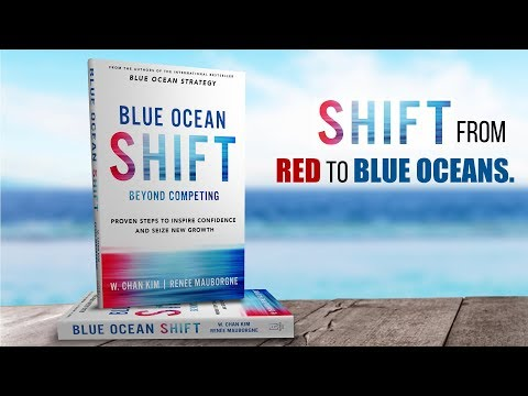 BLUE OCEAN SHIFT: How People Facing Obstacles, Like All of Us, Change the World?