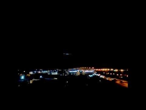 Solar Impulse on finals at Muscat, Oman