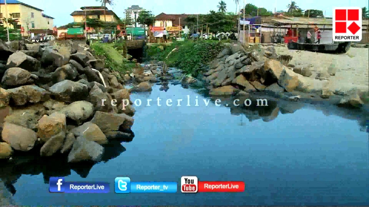 Hospital waste dumps to Beach premise at Calicut