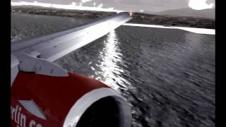 fsx flight simulator x hd landing in nice hyperthreaded i7 oc 4 00 ghz and ati 4870 hd x2