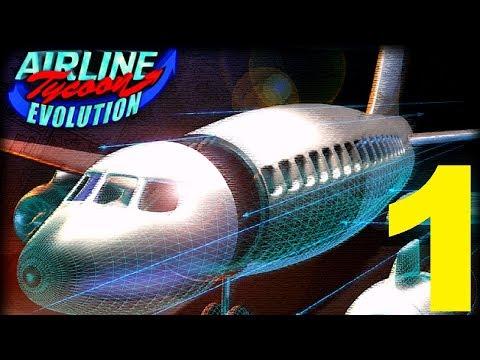 Airline tycoon evolution / #1 / Nové zaměstnání / Letsplay / CZ