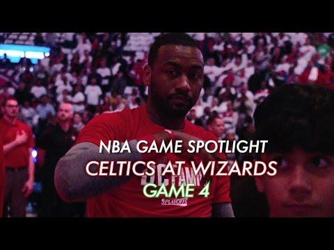 NBA Game Spotlight: Celtics at Wizards Game 4