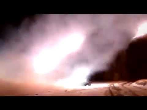 Ukraine Grads ATO hit the DNR 23.02.2015 Ukraine Today War News