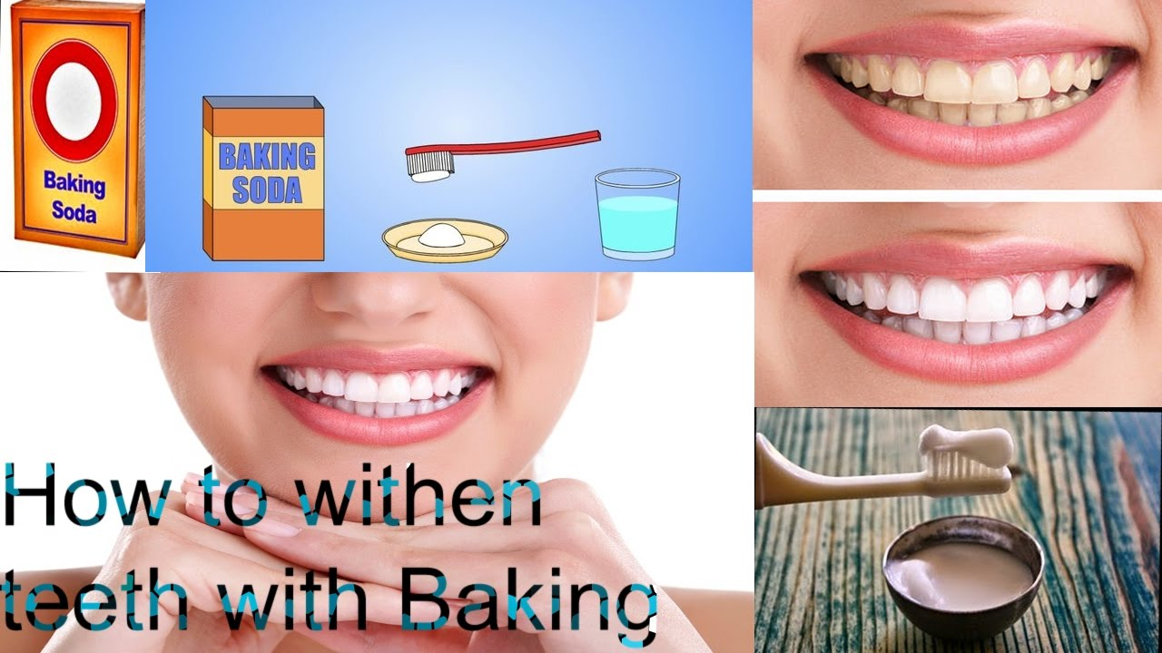 How To Whiten Your Teeth With Baking Soda Youtube