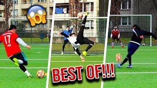 DIE BRUTALSTEN TORE & FUßBALL CHALLENGE FAILS !!