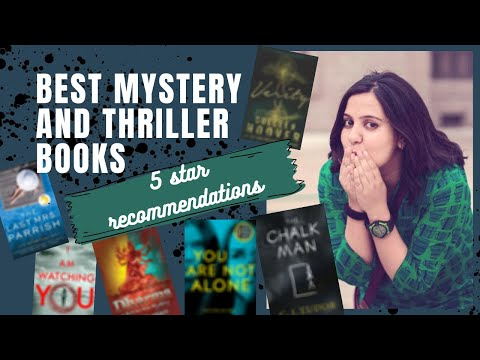 Best Mystery and Thriller Books | 5-star Book Recommendations (Nail-Biting Suspense Guaranteed)