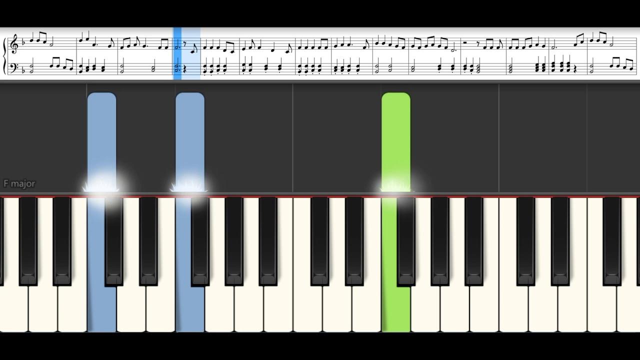 Download Canta suflet al meu - 10000 motive TUTORIAL pian si partitura