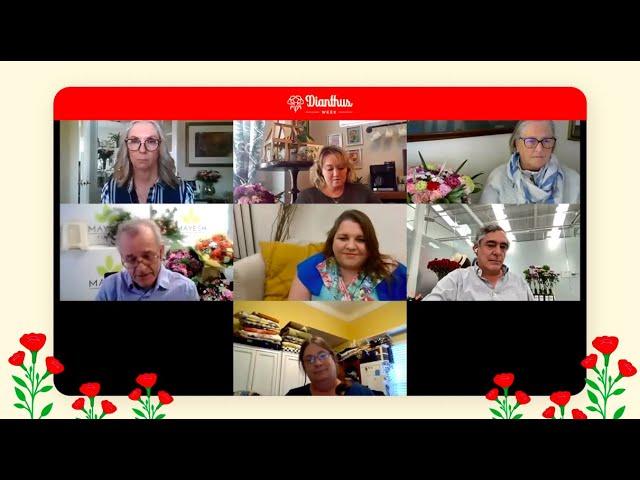 Dianthus Week 2021- Panel Virtual