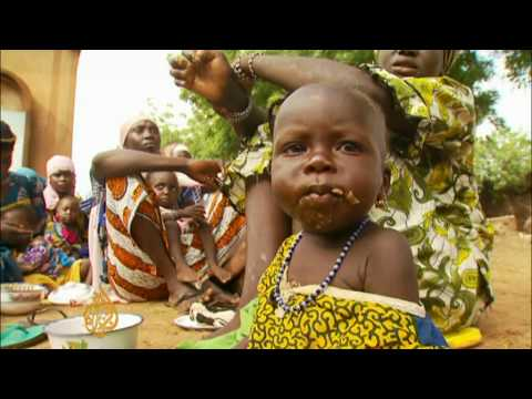Hunger stalks Niger children