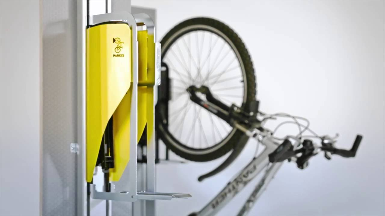 Vertical Bicycle Lift Parkis Youtube